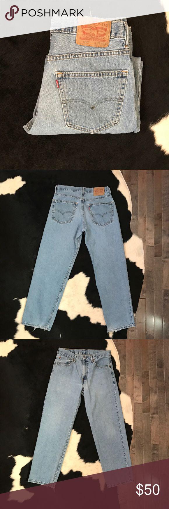 Vintage Levi's 550 high waist jeans Vintage 550 Levi's high waisted jeans with a 30 inch waist Levi's Jeans Skinny