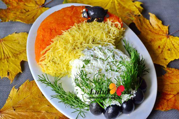 праздничный салат для детей