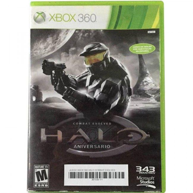 Juego Xbox 360 Halo Combat Evolved Aniversario