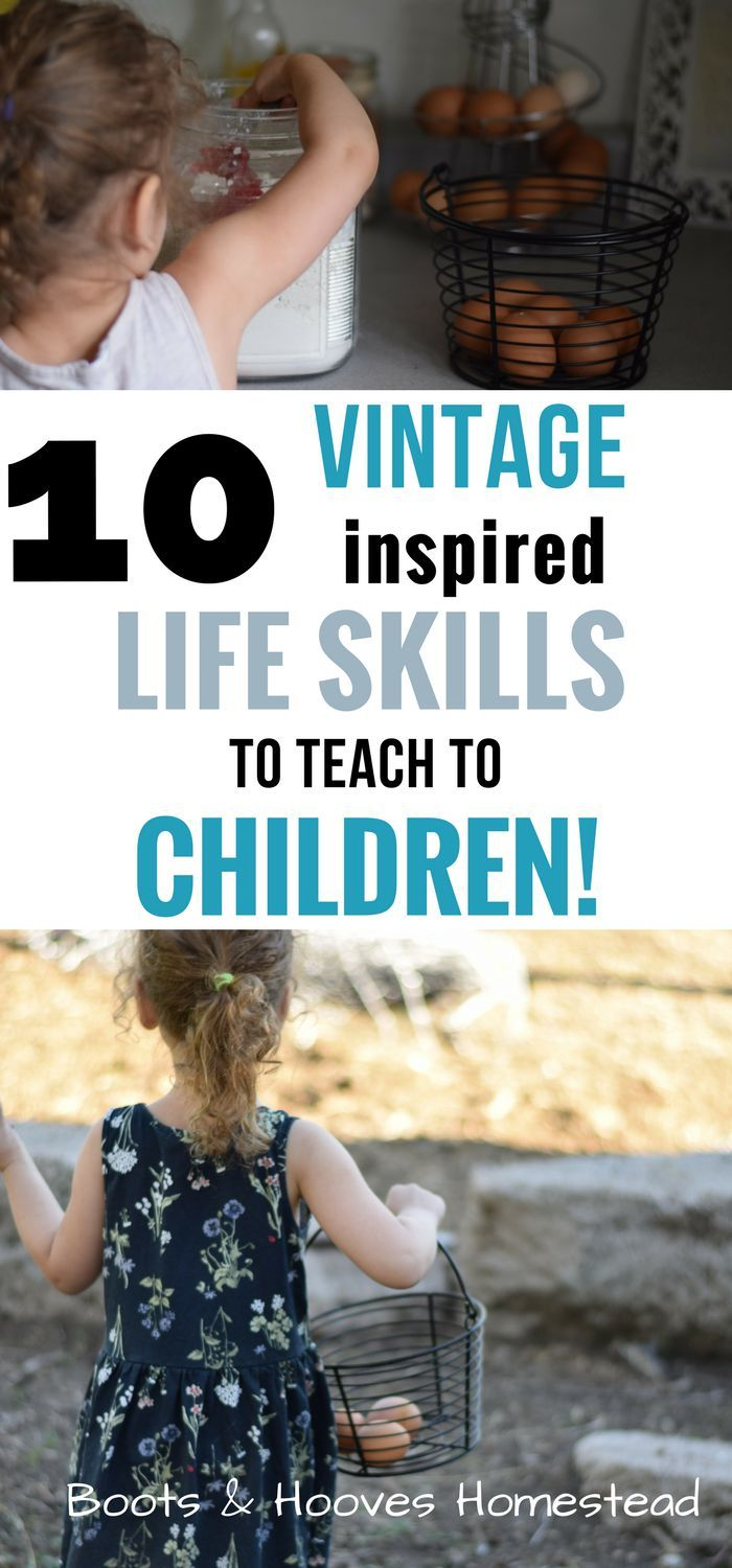 Children need to be taught basic life skills in order to survive in the world. I…
