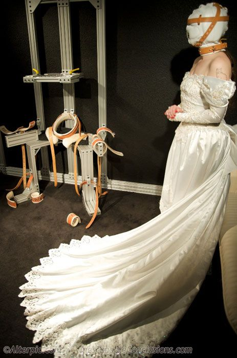 With you bdsm wedding dress for