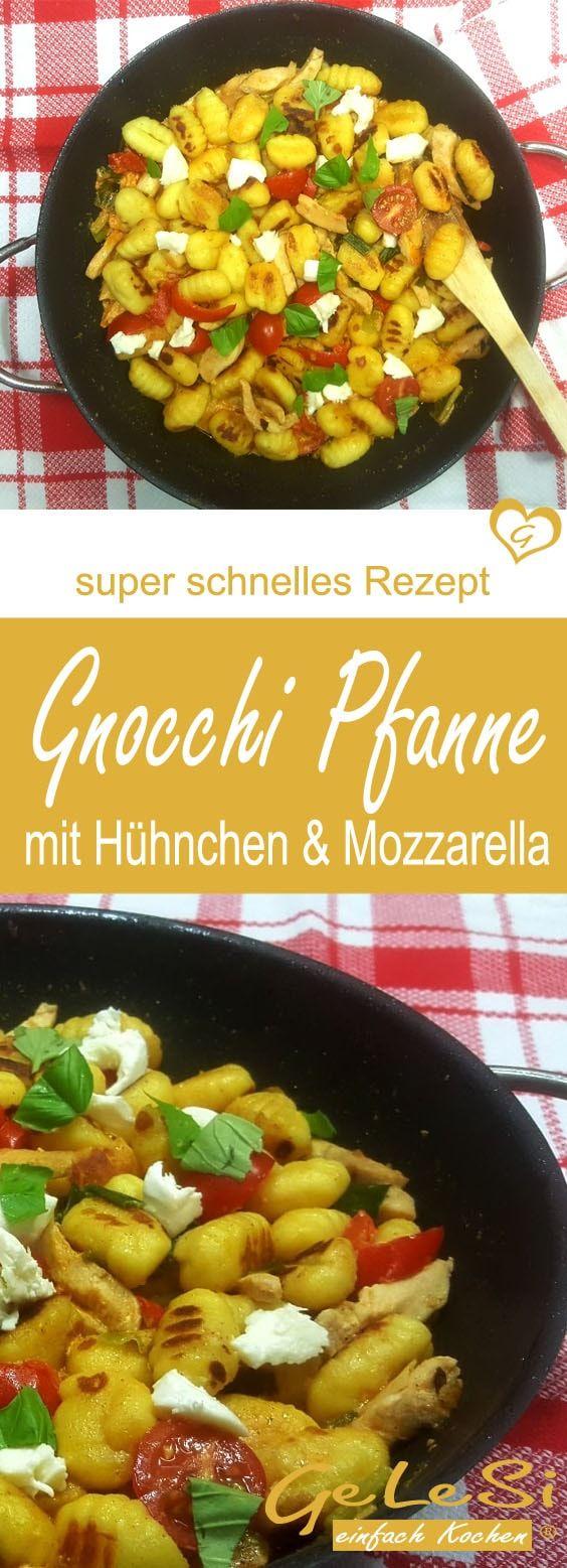 schnelle Gnocchi Pfanne – Soulfood für deinen Feierabend - einfaches Rezept