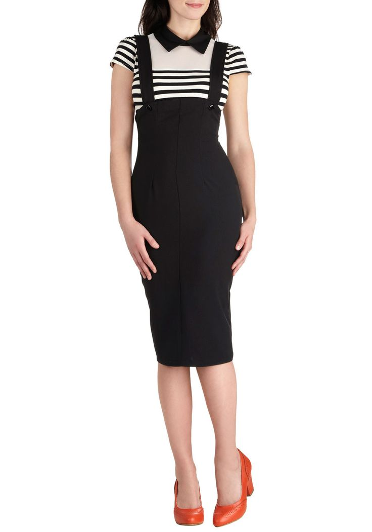 If I was skinny enough... - DLGH Bettie Page You Totally Rockabilly Jumper | Mod Retro Vintage Skirts | ModCloth.com