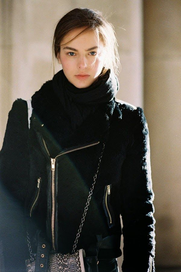 Vanessa Jackman: London Fashion Week AW 2014....After Margaret Howell | Fresh faced natural beauty.