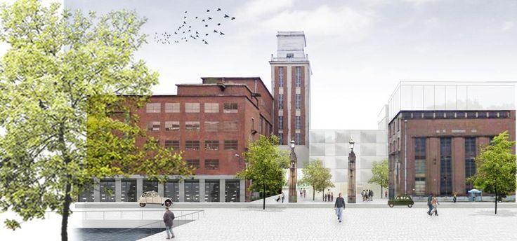 AB (brasserie) Inbev à Louvain transformation en résidence universitaire par Virix.