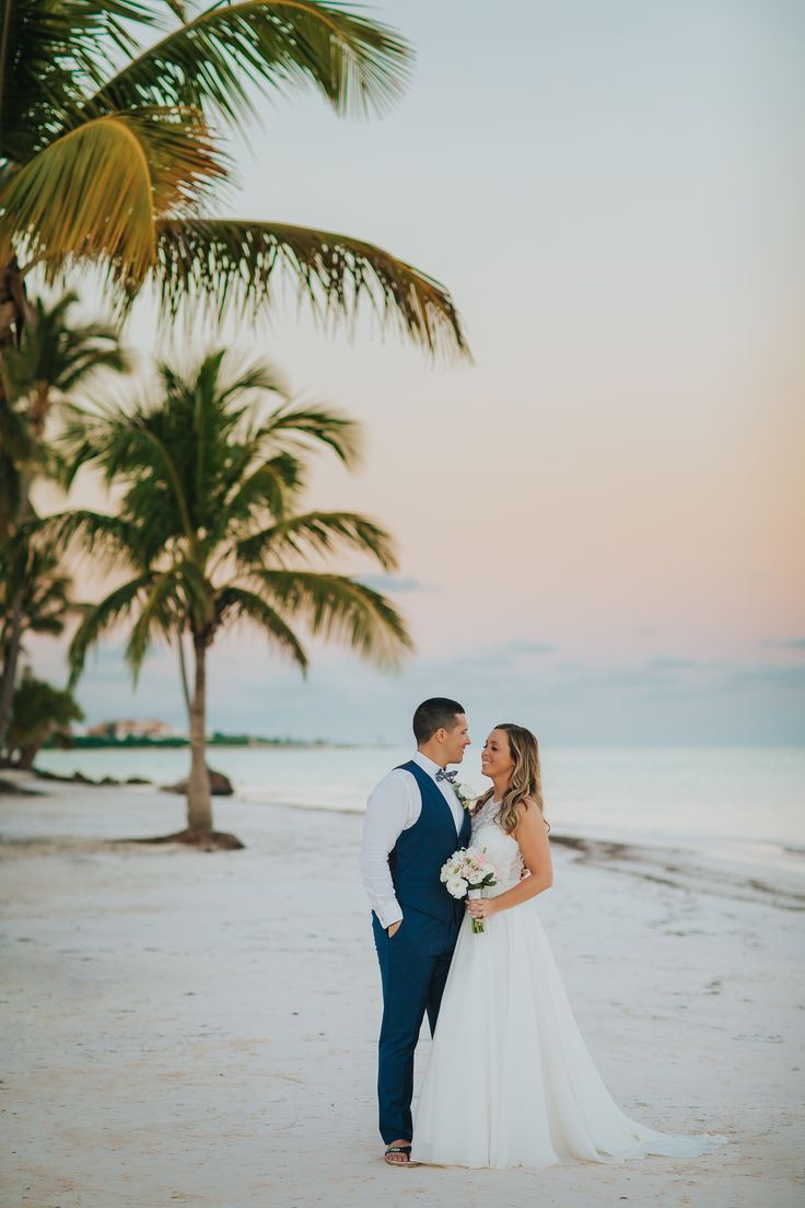 Reason #1 to host your destination wedding in the Dominican Republic? The white sand beaches at Secrets Cap Cana Resort & Spa. #sponsored #wedding Photography: Punta Cana Photographer.