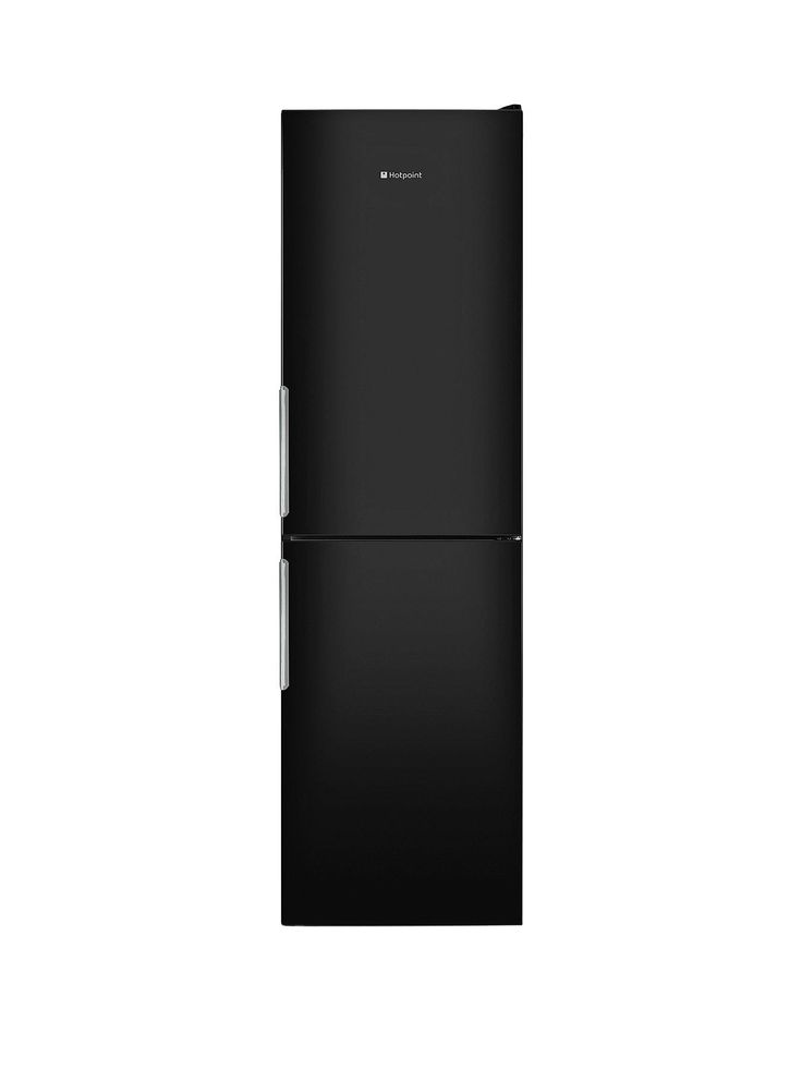 Hotpoint HOTPOINT XEX95T1IKZ Extra Frost Free Combi 2.0m Black The stylish Hotpoint Day 1 XEX95T1IKZ fridge freezer is big, spacious and versatile.  This is a big unit, topping out at just over 2m tall, with lots of storage space inside to give you a place for all the family's usual favourites. It's also frost free, which prevents ice from building up and keeps maintenance to a minimum.The large 235-litre fridge has anti-bacterial linings and a clever 3-in-1 Zone – a drawer that can b...