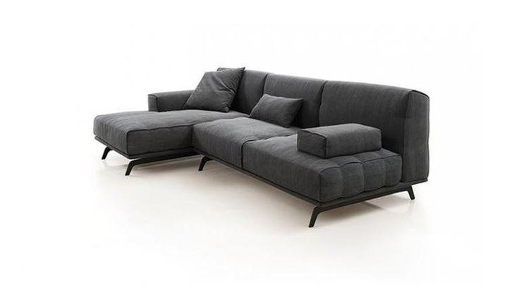 SEVEN Kαναπές σε ύφασμα ή δέρμα.Σε ποικιλία χρωμάτων.*Προϊόν διαθέσιμο μόνο στην Αθήνα