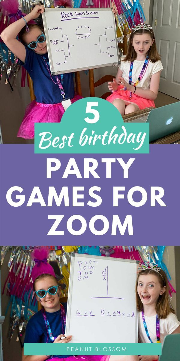 How to host a virtual birthday party for kids safe at home ...