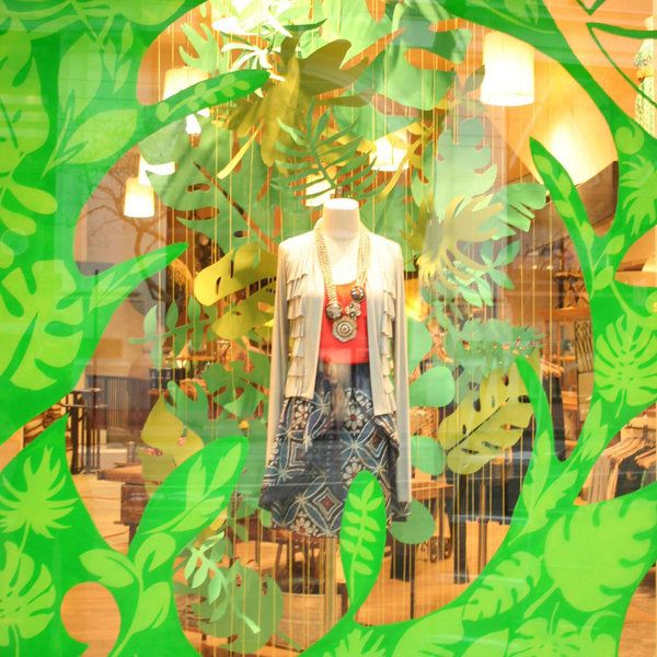 "Anthropologie San Francisco,California,USA,""Turning A New Leaf"", pinned by Ton van der Veer"