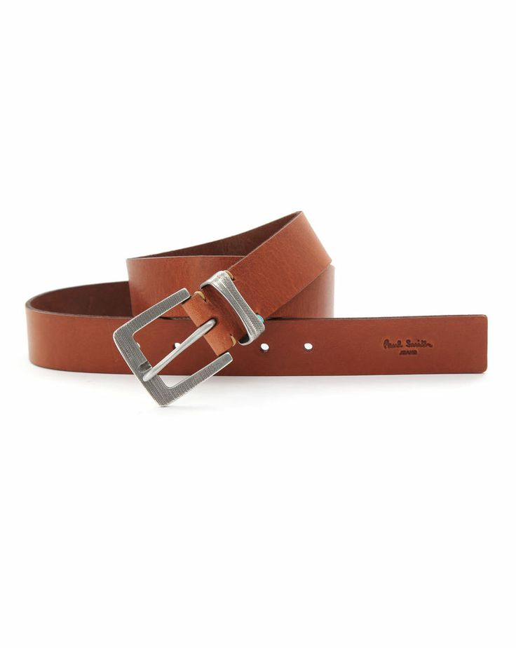 Paul Smith Ceinture en cuir tressé Homme Noir Accessories Ceinturesboutique paul smith parisfashion pas cher