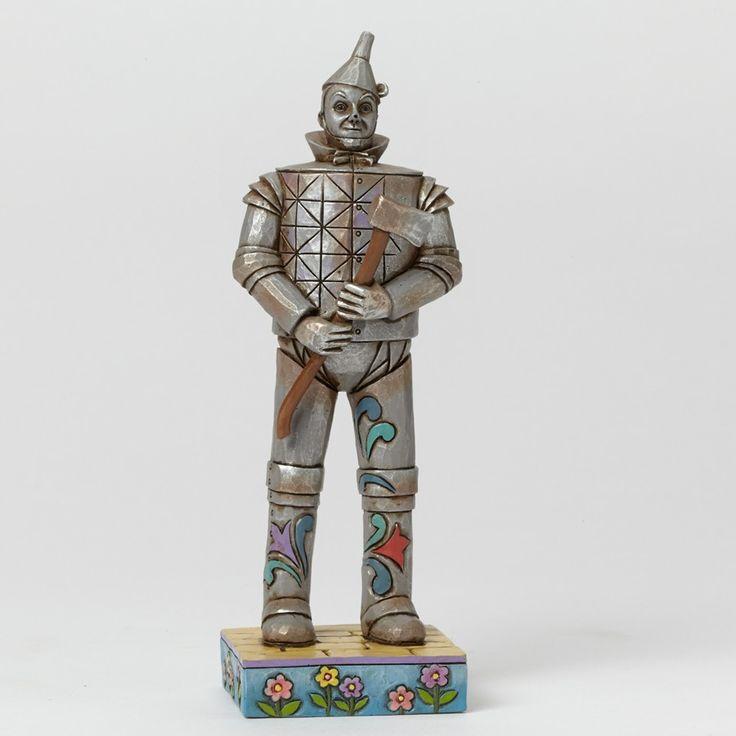 Wizard Of Oz Tin Man-Pint-Sized Tin Man Figurine Received 12/2014 - Michelle