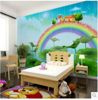 Free-shipping-Children-s-bedroom-wallpaper-mural-male-girl-children-s-room-wallpaper-cartoon-murals-of.jpg 399×405 pixels