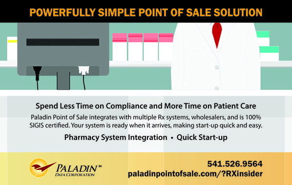 Paladin Data Corporation - Powerfully Simple POS Solutions  (as seen in the 2017 Platinum Pages Buyer's Guide: rxplatinumpages.com).