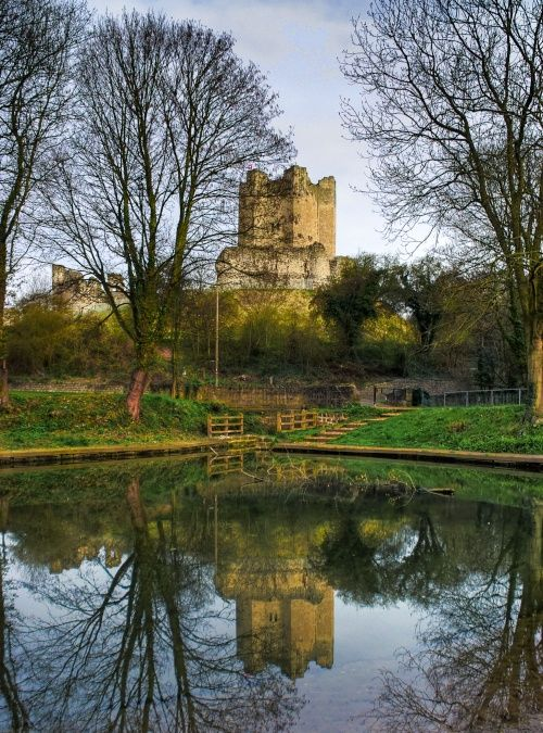 "Picture of South Yorkshire - Pictures of England ""Conisbrough Castle, South Yorkshire"""
