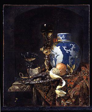 Willem Kalf - Still-Life with a Late Ming Ginger Jar - WGA12080.jpg