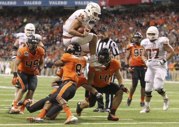 Alamo Bowl comeback! longhorns College football bowl