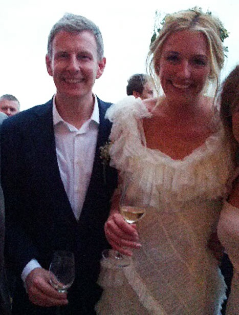 Cat Deeley Weds Comedian Patrick Kielty in Rome!