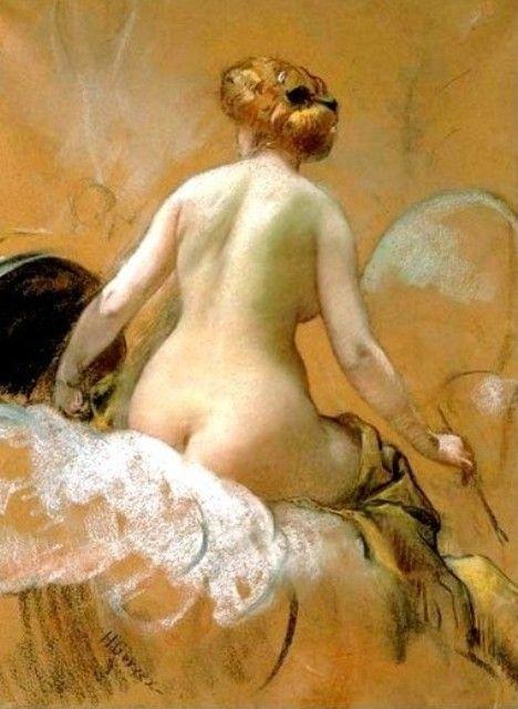Henri Gervex - Au bord du lit
