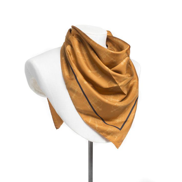 Scottish crown scarf - gold #ShopHistory