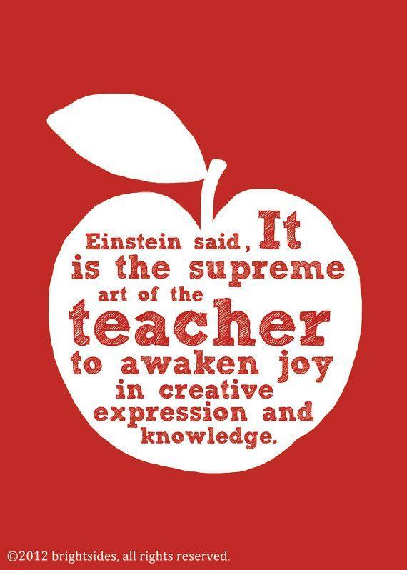 Art of the Teacher - Poster - Digital Download - Teacher gift