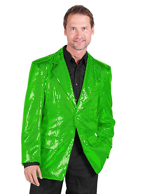 Green Pailleten jacket for men ► buy now