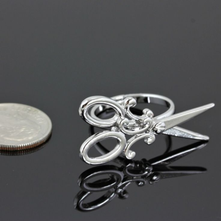 For all my Hair Stylist friends... Scissors Ring. Cosmetologists - Hair Dresser - Hair Goddess