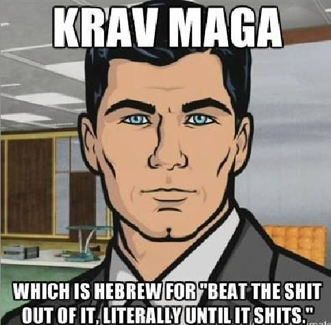 Krav Maga is intense. But worth every ounce of blood and sweat....
