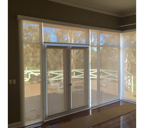 Sunscreen Roller Blinds - you can never have too many windows for them to still look fabulous and retain your views of outside