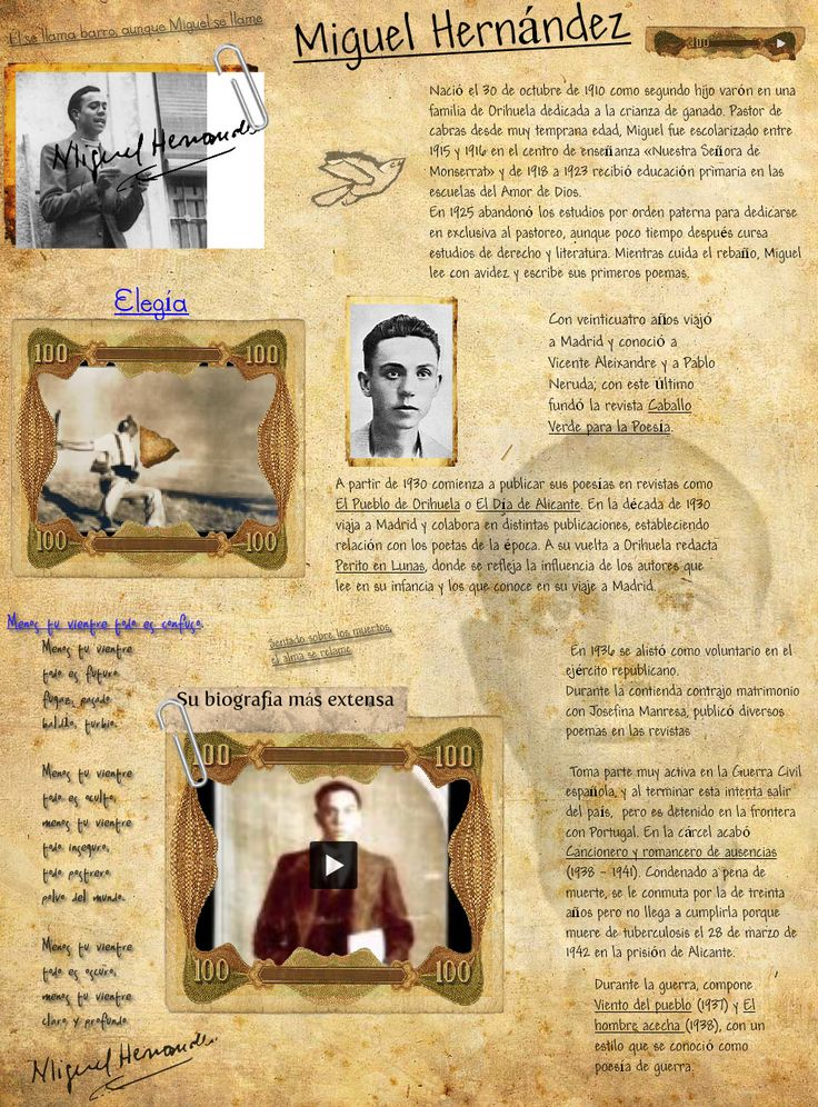Ruta literaria y vital de Miguel Hernández