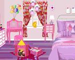 Jogo de arrumar o quarto da Barbie