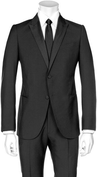 LYST    ARMANI  Armani Suit Black