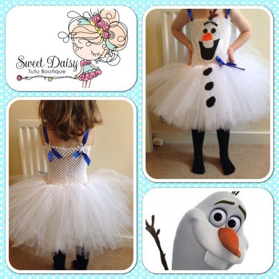 Handmade Olaf the snowman from Disneys Frozen by SweetDaisyTutus, £34.00