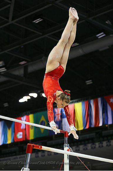 Madison Desch (USA) Podium Training for the 2015 Pan American Games