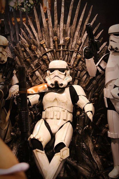 Star Wars / Game of Thrones mashup