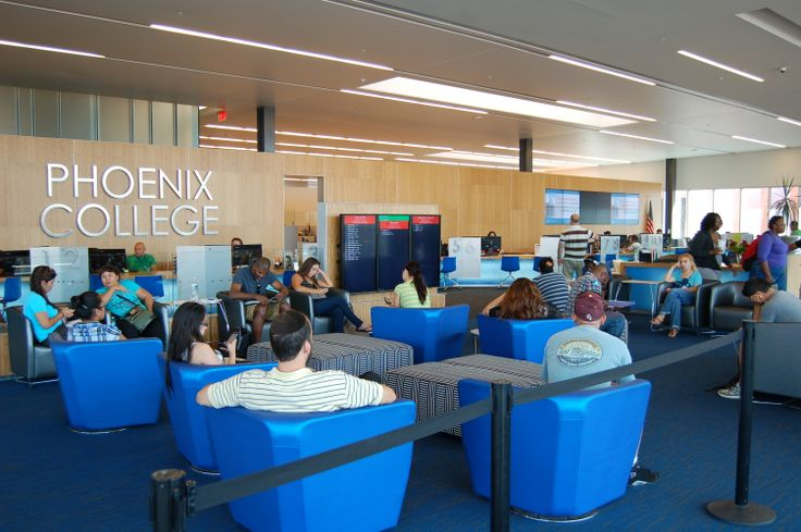 Inside of the Hannelly Center's One Stop at Phoenix College