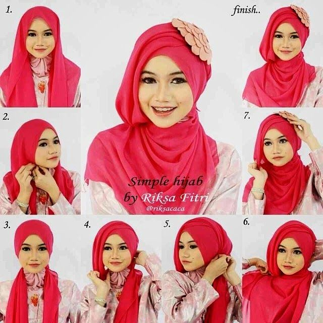 My Sweet Escape: Gorgeous Evening Occasion Hijab Tutorial
