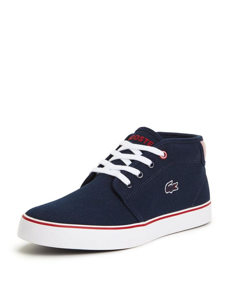 LACOSTE JUNIOR CANVAS AMPHTILL BOOTS, http://www.littlewoods.com/lacoste-lacoste-junior-canvas-amphtill-boots/1600035413.prd