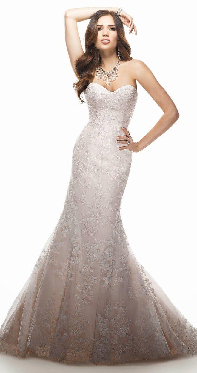 One strap wedding dress   best Wedding dress images on Pinterest  Bridal gowns Wedding