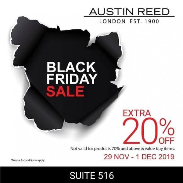 29 Nov 1 Dec 2019 Austin Reed Black Friday Sale At Johor Premium Outlets Austin Reed Black Friday Sale Black Friday