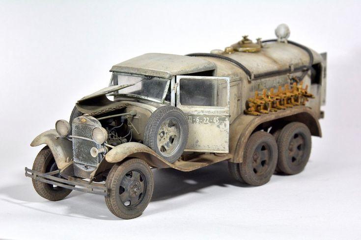 Used #MiniArt's Kit:  35158 BZ-38 REFUELLER Mod. 1939 http://miniart-models.com/35158/ Modeller: Miroslav Belovič Source: https://www.facebook.com/miro.belovic/posts/10214707708834623