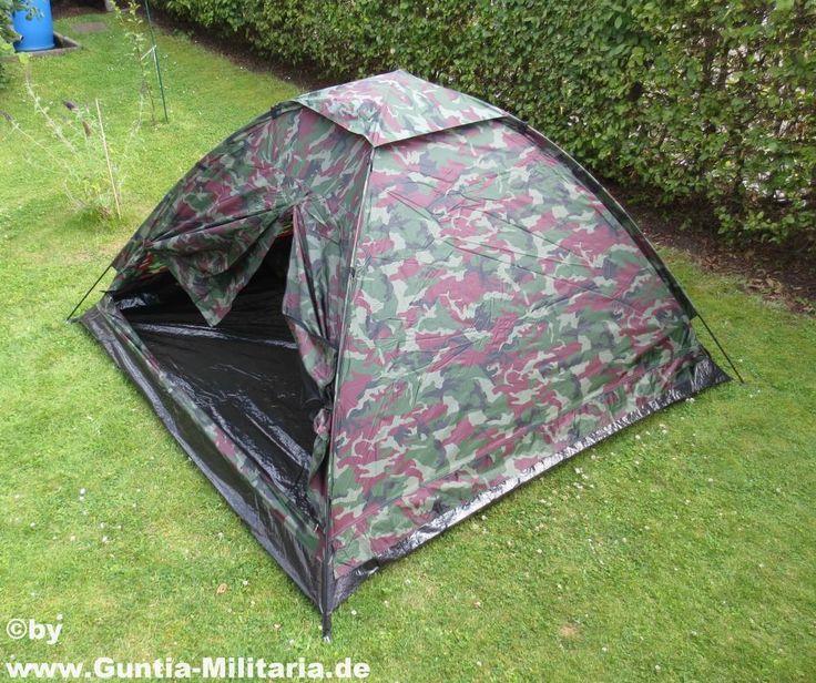Zelt Monodom, woodland / mehr Infos auf: www.Guntia-Militaria-Shop.de