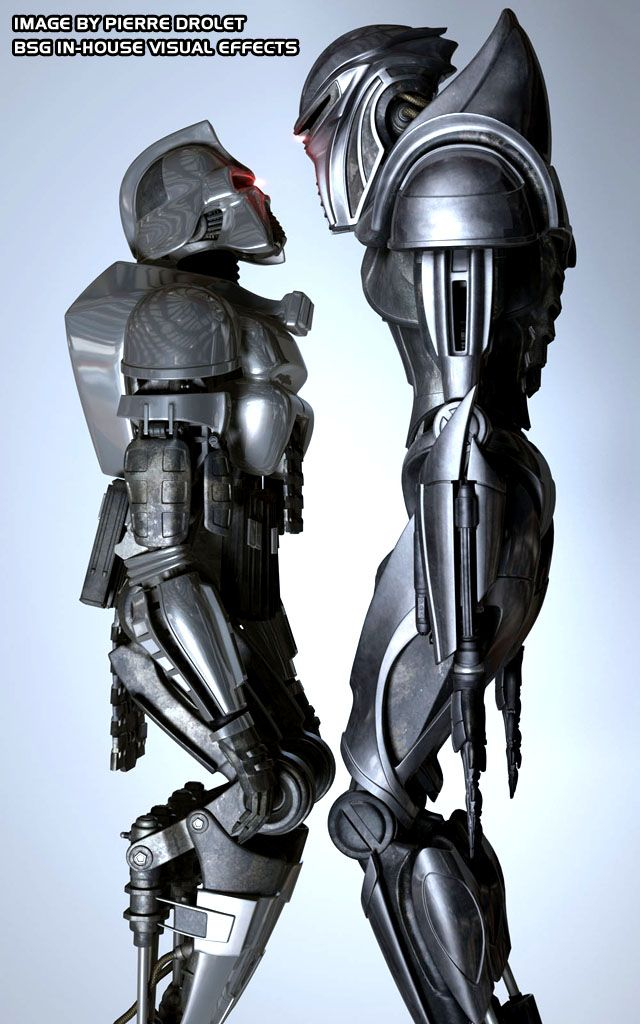 cylons | Which do you prefer, classic or new Centurion? Let us know in the ...