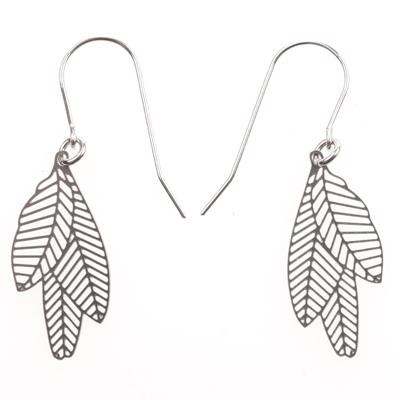Earrings Small Feather from Polli
