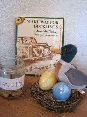 Make Way for Ducklings activities and lap book