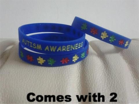 Autism Awareness Bracelets The House of Awareness Presents: This is for 2…