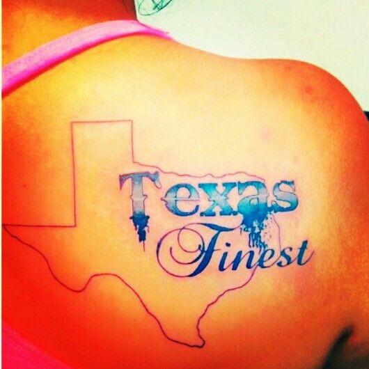 Texas tattoo