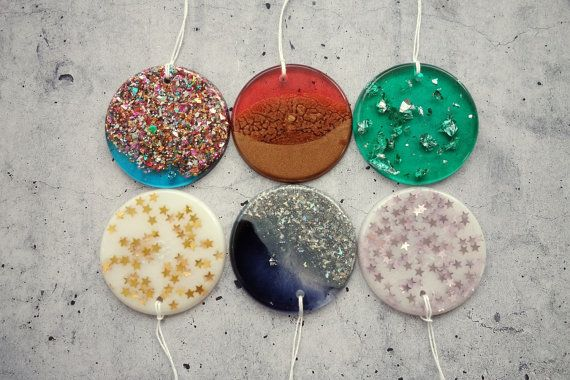 Ready to Ship: Assorted Resin Decorations by WordosaurusText
