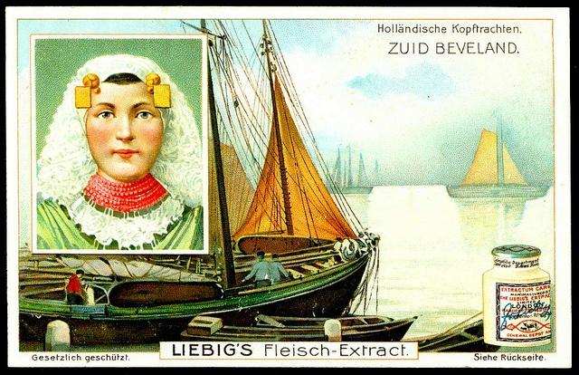 Liebig S844 Dutch Headdress - Zuid Beveland