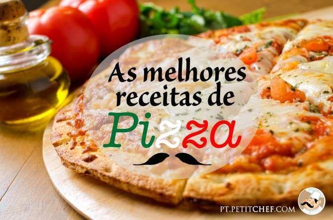 As melhores receitas de Pizza